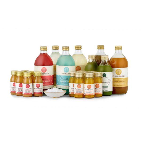 Purearth Immunity Juice + Kefir Pack