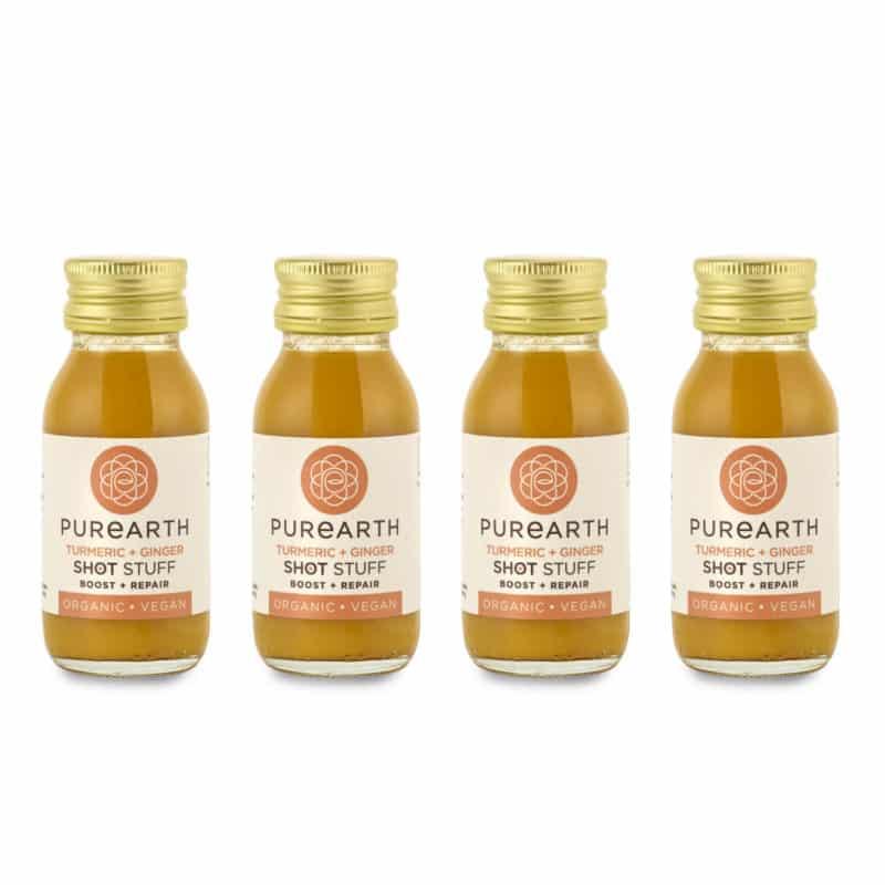 Turmeric + Ginger Shot (4 Pack)