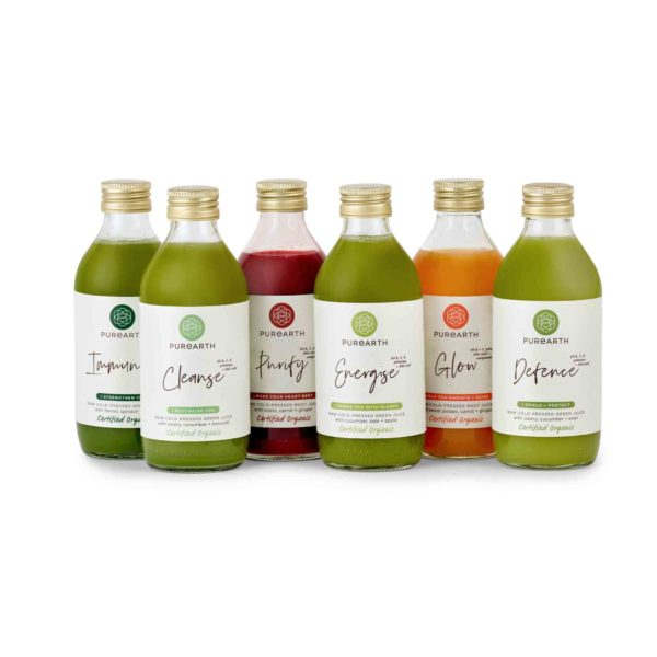 Purearth Mix Of Six Juice Pack