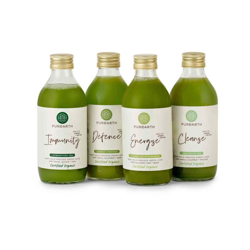 Purearth Mean Green Juice Pack
